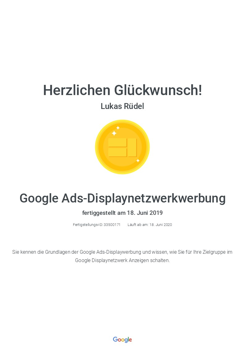 Zertifikat_Display_Ads_Lukas_Ruedel