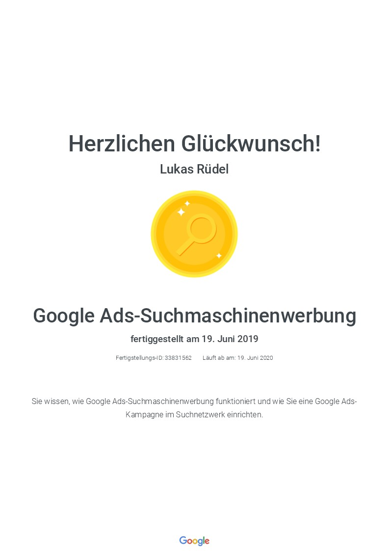 Zertifikat_Google-Suchmaschinenwerbung